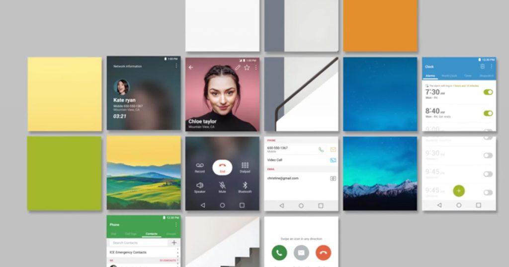 Interfaz del nuevo LG G6 - Movetia