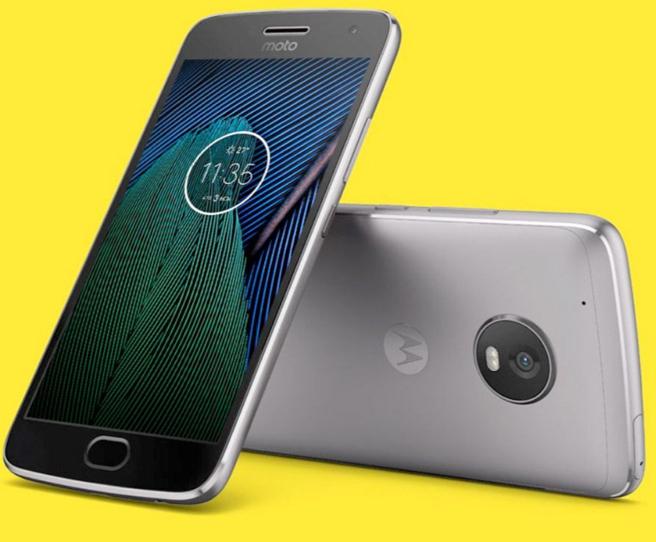 Nuevo smartphone Moto G5 presentado en el MWC17