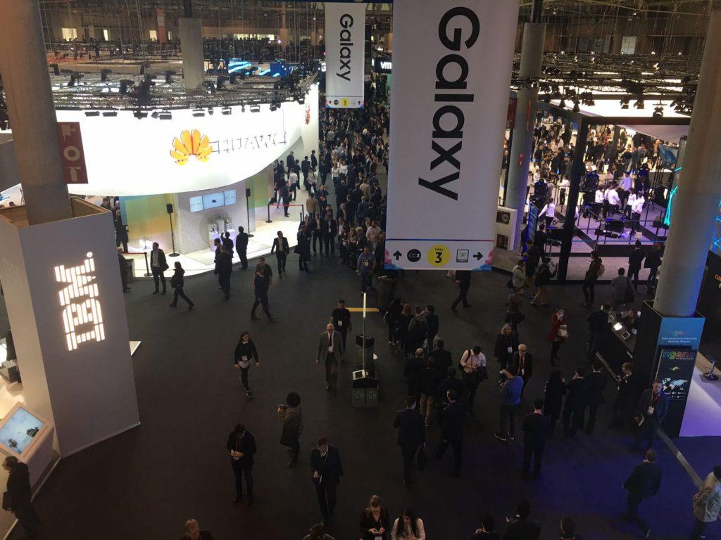 Samsung en el Mobile World Congress 2017