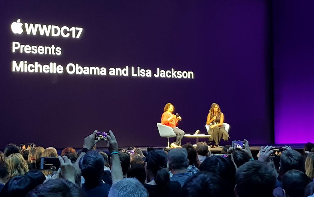 WWDC17 Michelle Obama - blog movetia