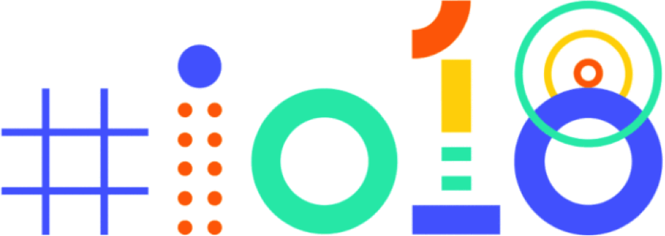 Logo del evento Google I/O 2018
