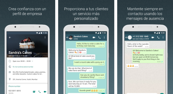 business chat whatsapp business - blog movetia