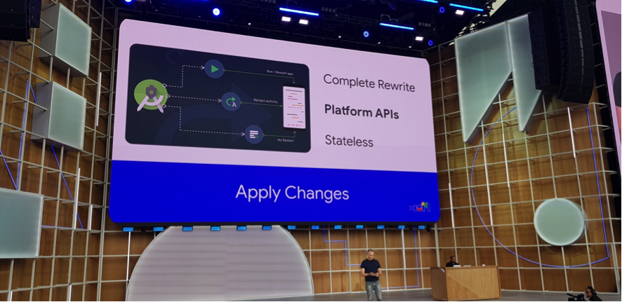 google io apply changes