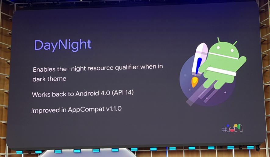daynight para darktheme de android