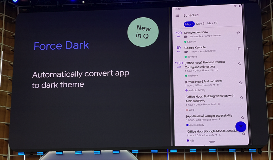 light dark theme android