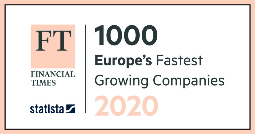 Ranking Financial Times de las 1000 empresas más innovadoras y de alto crecimiento en Europa