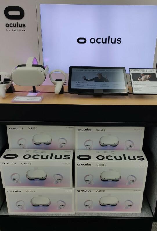 gafas de realidad virtual octulus